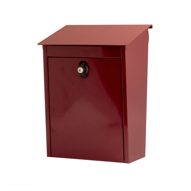 Habo Postkasse 330x270x130 mm rød