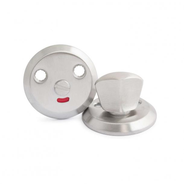 Habo toalettbesättning för Boda rostfritt stål (20916)