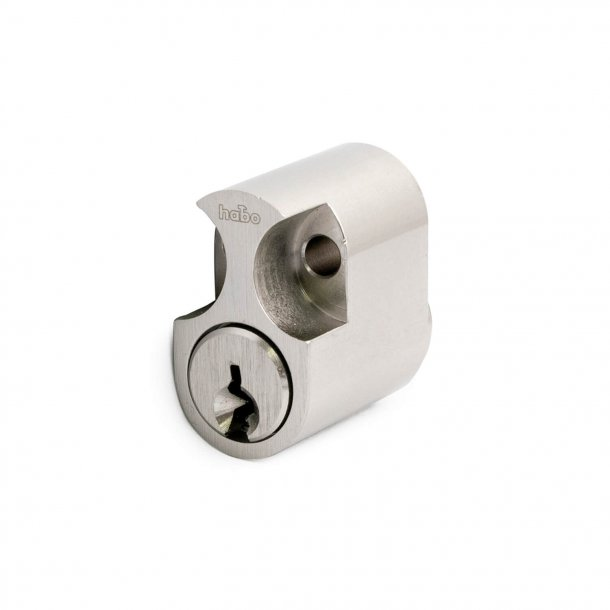 Cylinder 6-pin rococo m / key stainless look 1 pcs.
