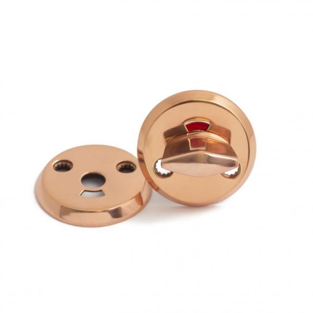Habo toilet indicator lock BODA - Copper