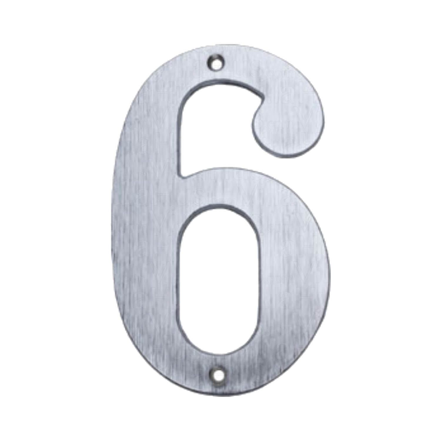 house numbers matte nickel 140 mm model 572 house