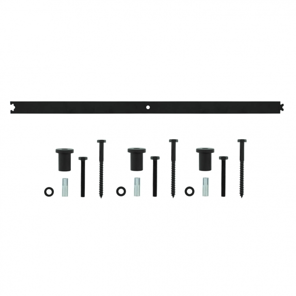 Verlängerungsschiene 90 cm - Schwarz