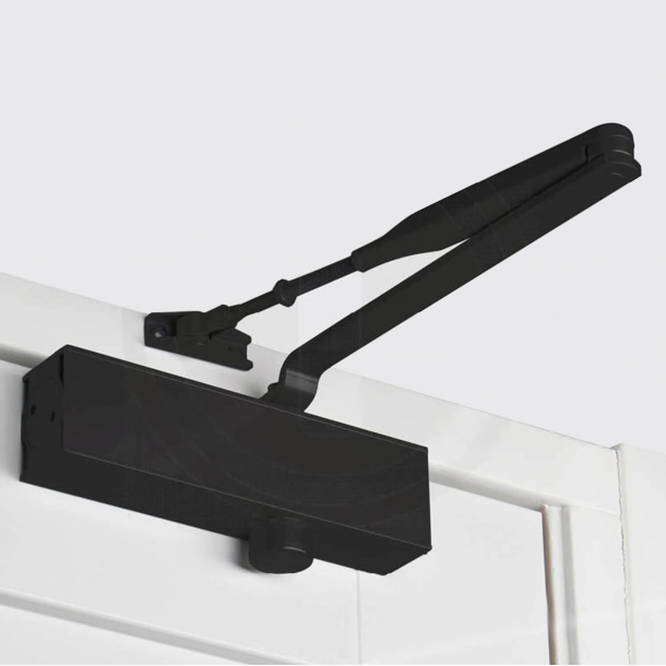Door shutter - Strength 2-4 - Black