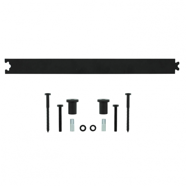 Extension rail 45 cm - Black