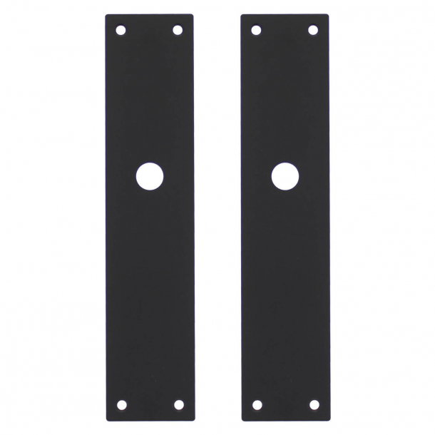 Backplate (set) Matte black - Model 583