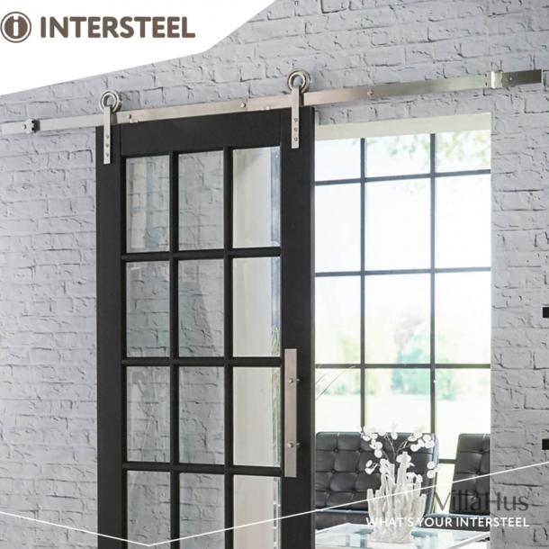 Kit for Sliding Doors - Modern stainless steel