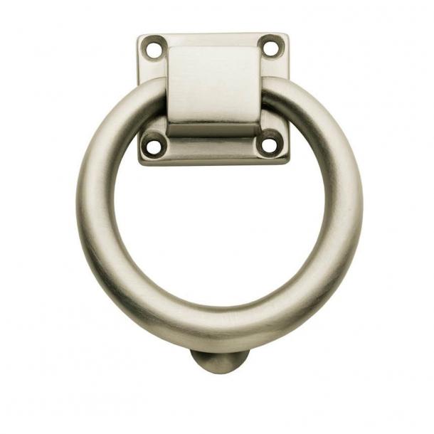 Kołatka - Nikiel szczotkowany - Pierścień - 117 mm