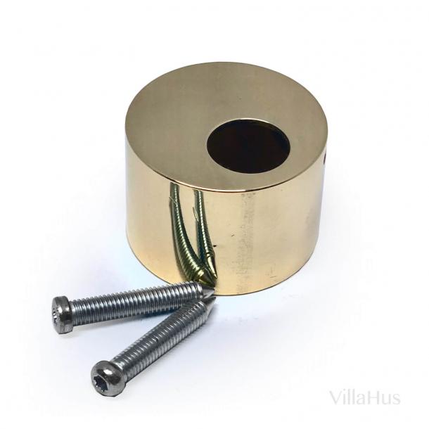 Cylinder afdækningskop - Udvendig - Messing - ø38 - 6 stifts