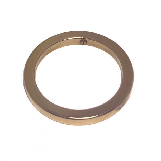 Ring til cylinderafdækningskop - Messing - ø38