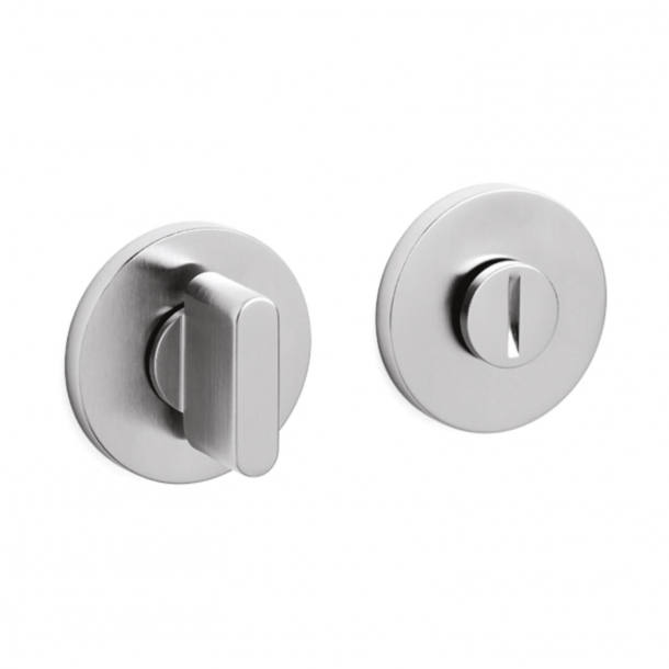 Privacy lock - Brushed stainless steel - Gio Ponti LAMA L