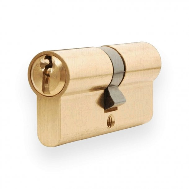 Cylinder lås  Dobbelt med nøglefunktion indvendig og udvendig