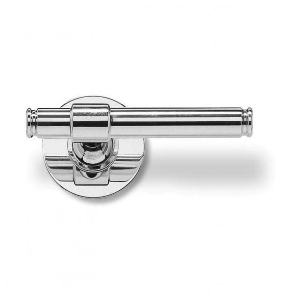 Randi glansigt krom dörrhandtag - H-form - Modell p3011.94