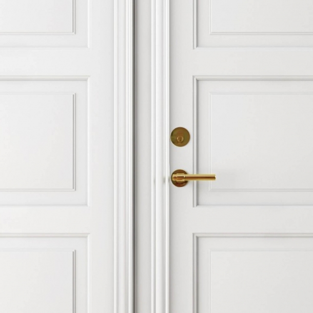 RANDI brass door handle exterior - C-form - Model p3020.94
