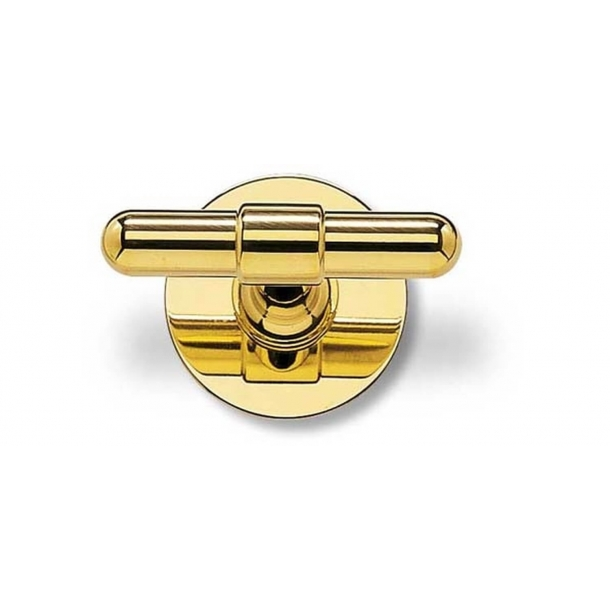 RANDI brass door handle - C-form - Model p3023
