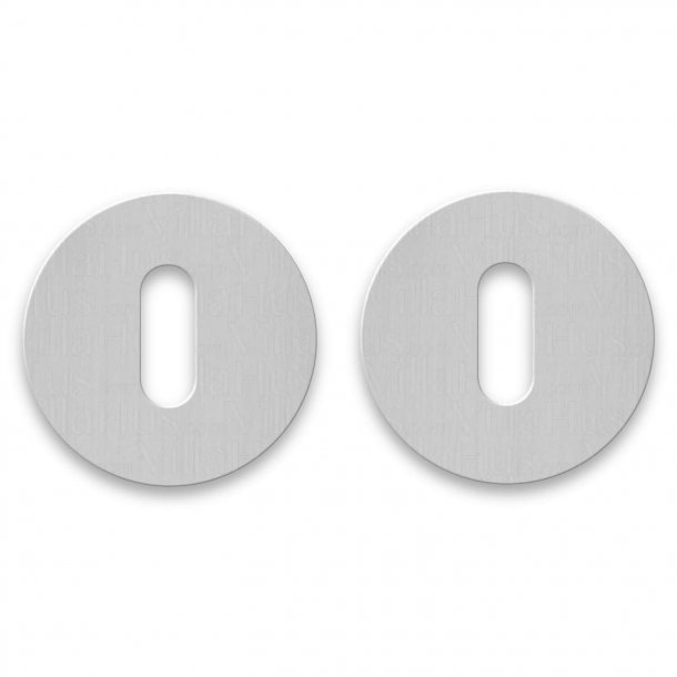 RANDI Escutcheon - Stainless steel - cc38 mm - Click cover - No visible screws