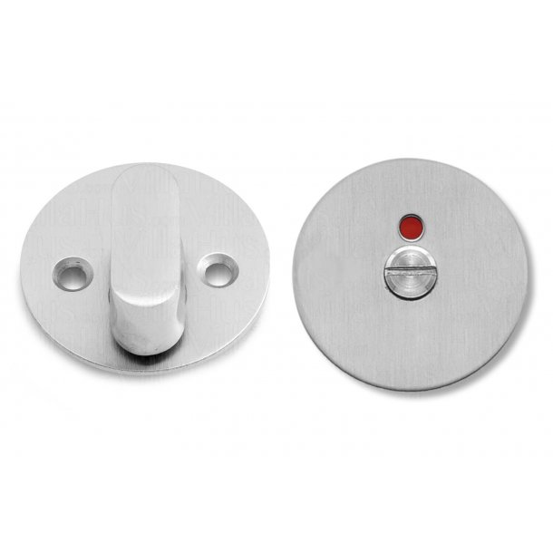 Randi vrider/toiletmark - Børstet stål - Model GRATA - cc30mm