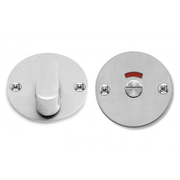 Randi Toilet indicator lock - Stainless steel - Wood screws - Model GRATA