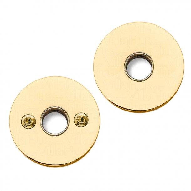 Rosset for door handle - Brass - RANDI - cc30mm - ø16mm