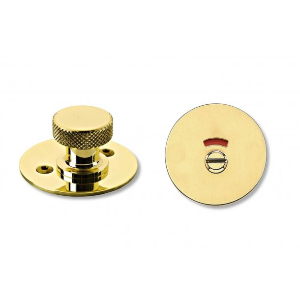 RANDI toilet indicator lock brass - Model p3140.93 cc27mm