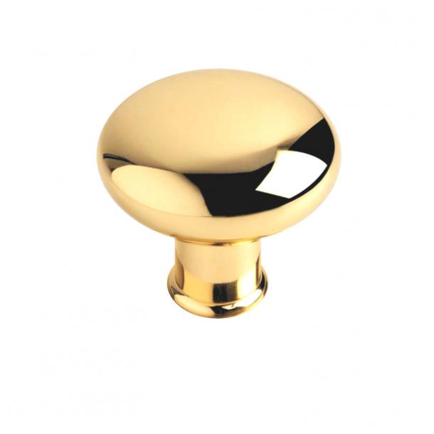 Klamka do drzwi kulowych - Lity mosiądz bez lakieru - Linia RANDI - Model P1080