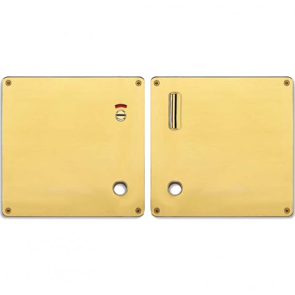 Blokada prywatności do WC - Prawa - Mosiądz - Randi Model 1385 - 175x170x2 mm