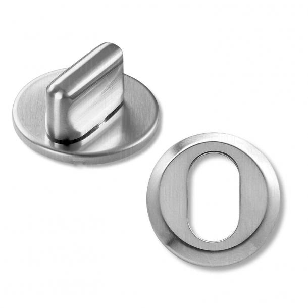Twist and Cylinder Ring - Borstat stål - RANDI-Line Modell 1140 - 7 mm