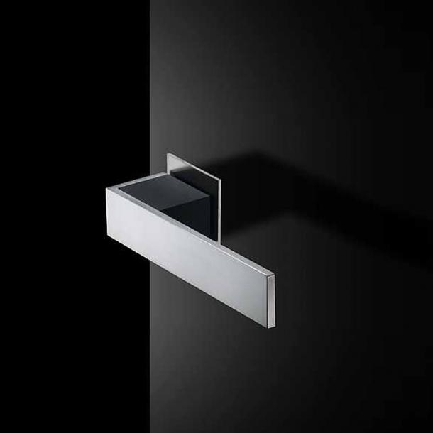 RANDI door handle SQUARE - Right - Stainless steel - Friis og Moltke Design