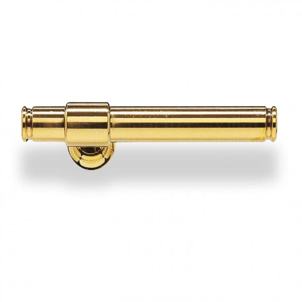 Door handle without rosettes - Brass - Classic Line - Model p301090