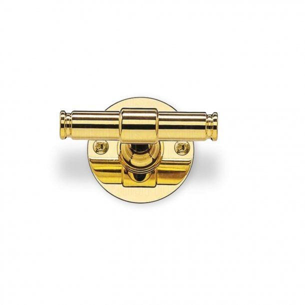 Door handle - Brass - Classic Line - Model p301396 - Wood screws