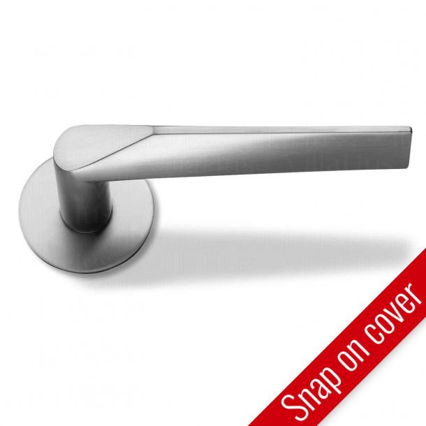 Randi dörrhandtag Komé - Rostfritt stål - Snap-on-cover