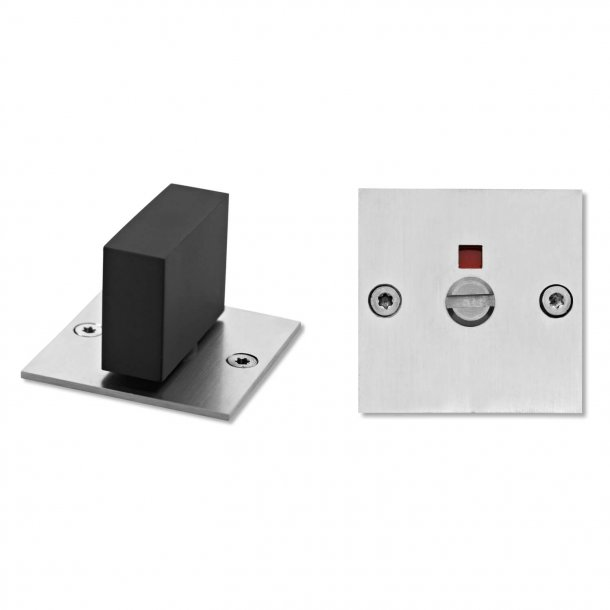 Toilet indicator lock - Friis & Moltke - Stainless steel