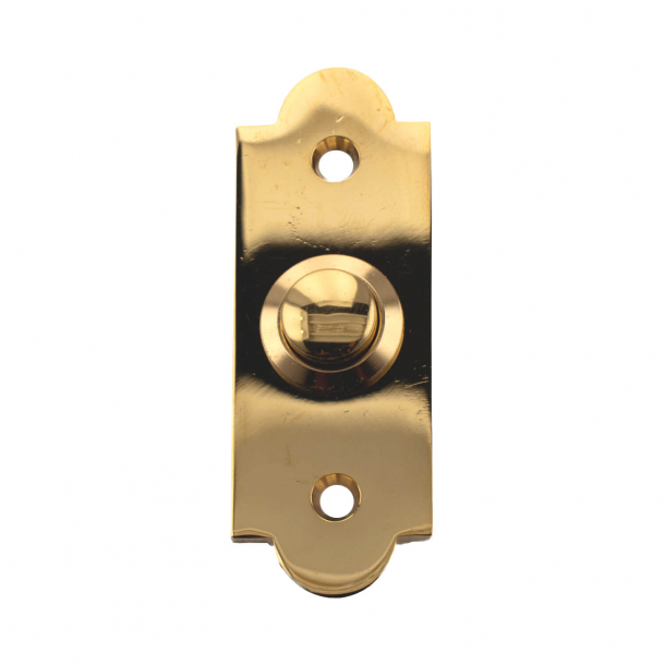Bell push - Brass without lacquer- Model 547-1