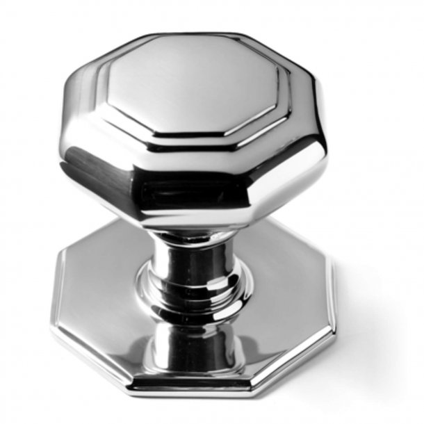 Centre Door Knobs - Chrome Plated - 60 mm (P2130-A)