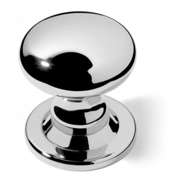Zentriertürknöpfe - verchromt - 88 mm (P2132-A)
