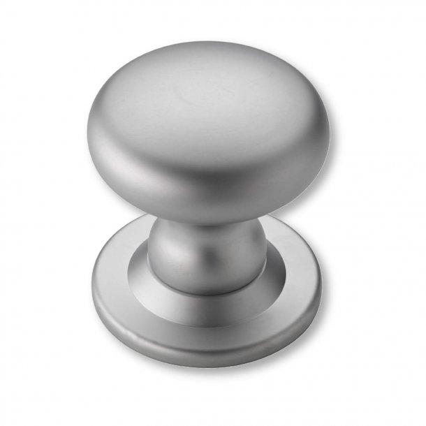Zentriertürknöpfe - Seidenmatt verchromt - 88 mm (P2132-A)