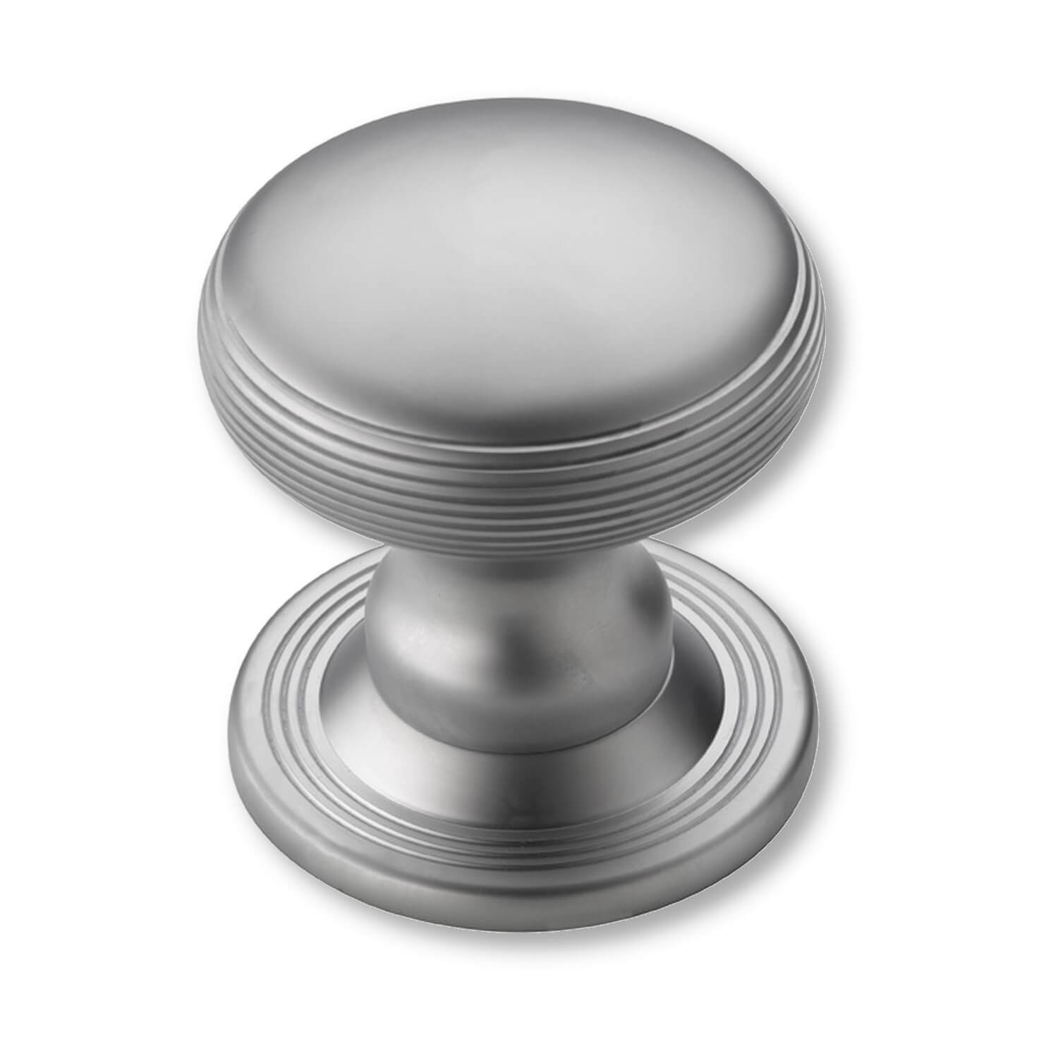 Centre Door Knobs - Satin Chrome - 88 mm (P2134-A) - Centre Door ...