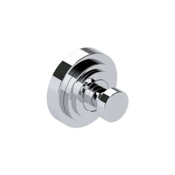 Hook for bathroom - Samuel Heath - Chrome - LANDMARK PURE - Ø56 mm - Model N7632F