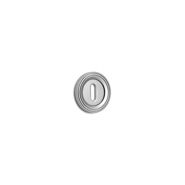 Key Tag - Hidden screws - Chrome 38 mm (P8194)