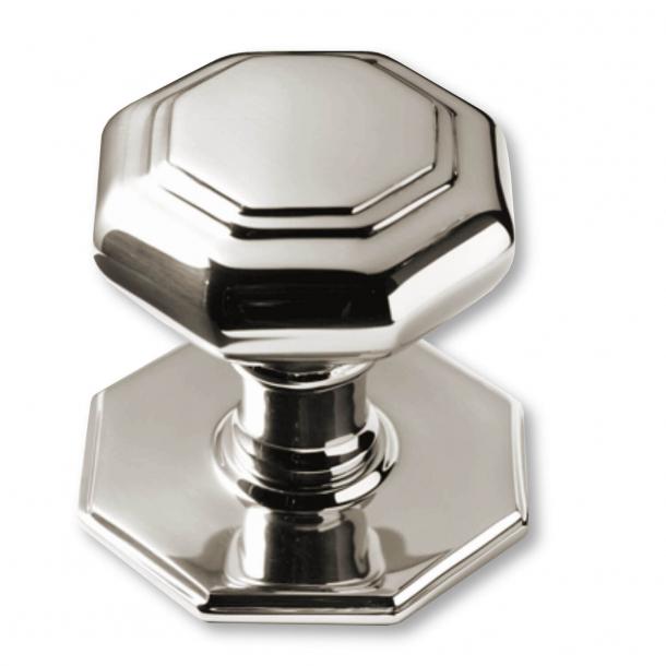 Dørknop - Blank nikkel - 67 mm (P2130-B)