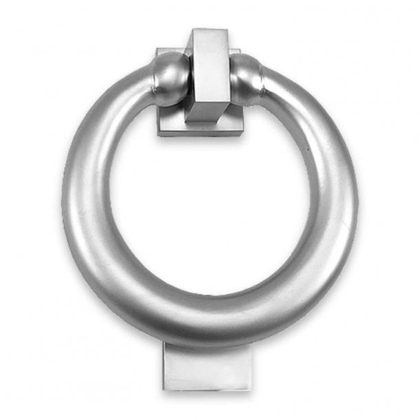 Türklopfer RING - Seidenmatt verchromt - P7007