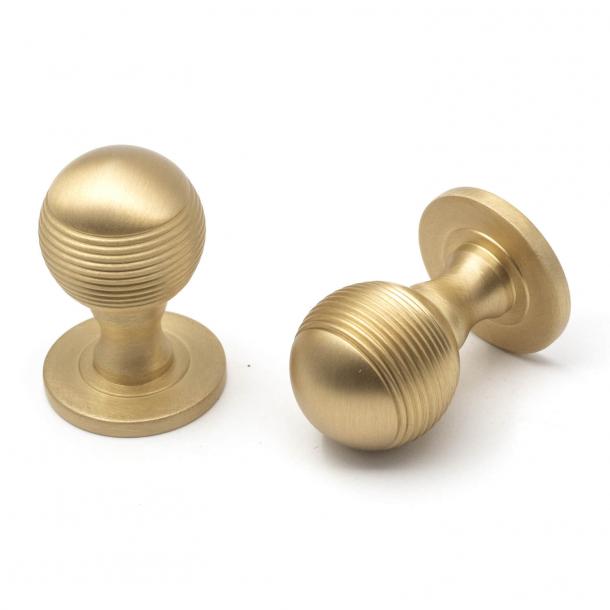Cupboard knob - Samuel Heath - Brushed gold matt - Model P797-B - 25 mm