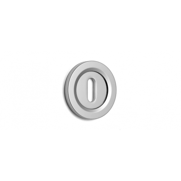 Key Tag - Hidden screws - Chrome 51 mm (P8183)