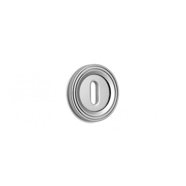 Key Tag - Hidden screws - Chrome 51 mm (P8193)