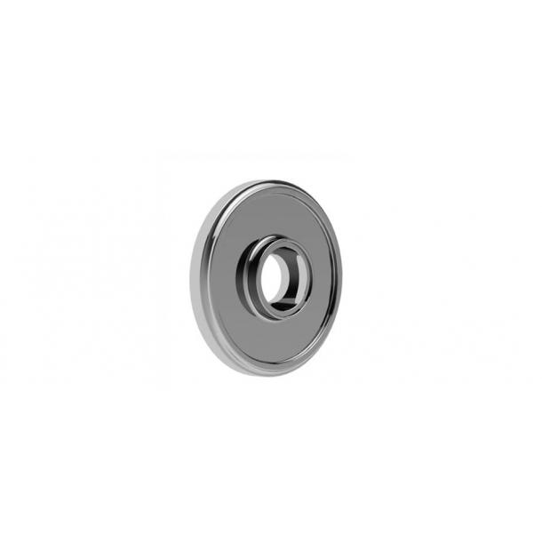 Rozeta - Ukryte śruby - Chrom - 54/60 mm