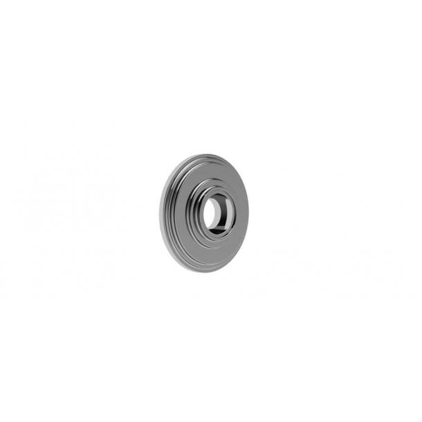 Rosette - Versteckte Schrauben - Chrom 57/63 mm