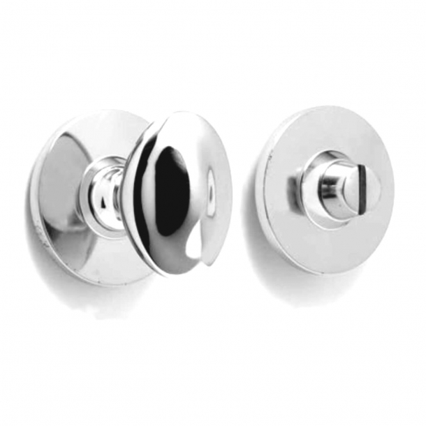 Privacy lock - Profile - Chrome - Thumb Turn and Coin Release - Model p8174