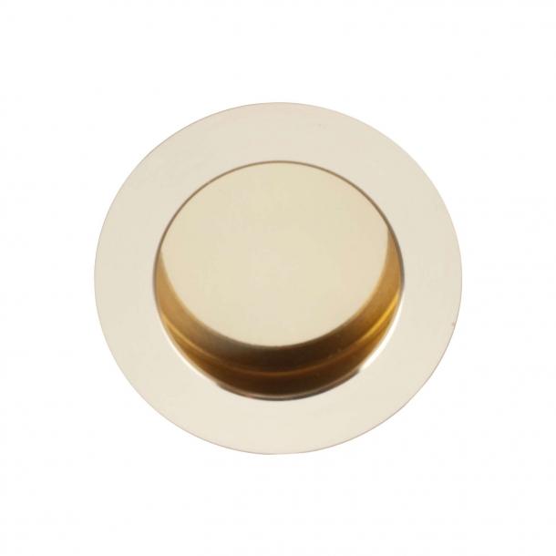Schiebeplatte - Poliertes Messing