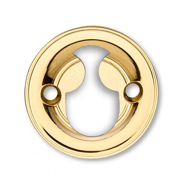 Cylinderring - Messing - Rokoko - Indvendig - 8 mm