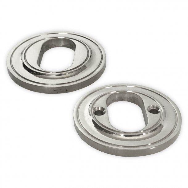 Dobbelt cylinderring, Assa, Nikkel - 6 mm