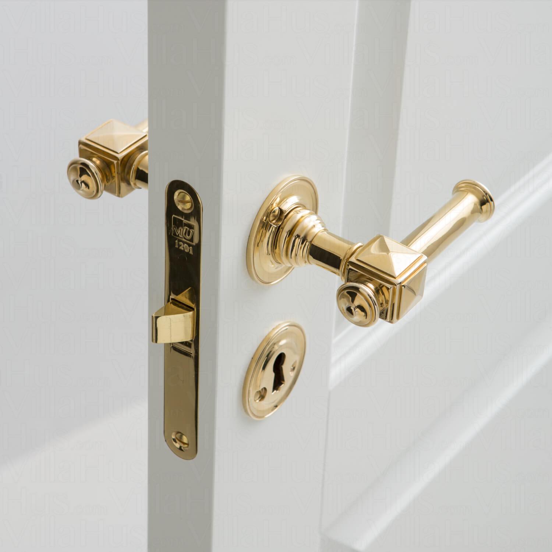 door handle interior ullman 112 mm brass brass door. Black Bedroom Furniture Sets. Home Design Ideas